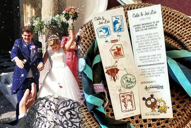 Una boda cargada de solidaridad!! El enlace de Jose Luis & Cintia.